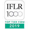 IFLR 1000 Top Tier 2019 Web100
